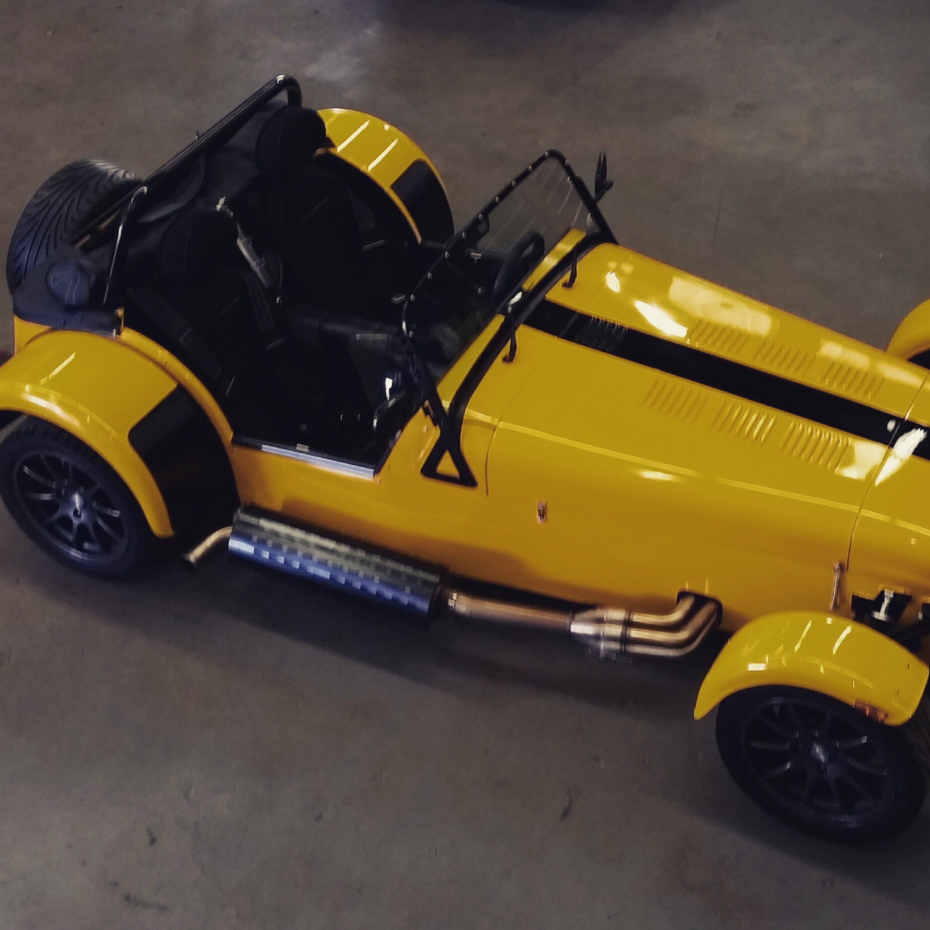 Caterham SV 210 Tuning By ACE Performance
